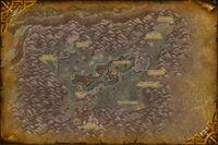 Gorge des Vents brûlants map cata