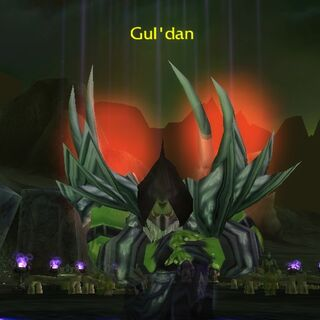 Vision of Gul'dan in <i><a href=