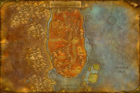 Durotar map Classic