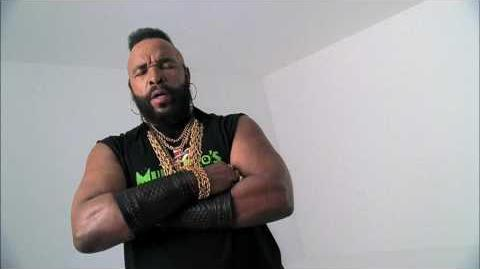 World of Warcraft Mr. T Commercial - Mohawk Scan