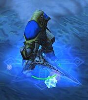 Arthas Frostmourne Warcraft III Model