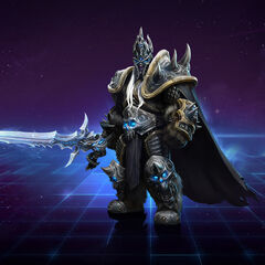 Artwork of Arthas from the <a href=