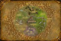 Cratère d'Un'Goro map cata