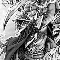 Лор'темар Терон сражается с плетью.