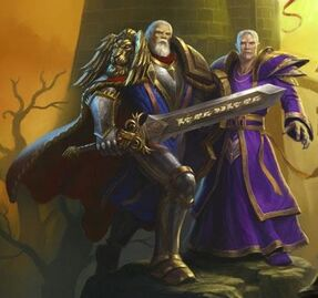 Lothar and Khadgar