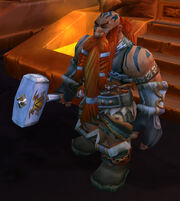 Falstad Wildhammer in Ironforge
