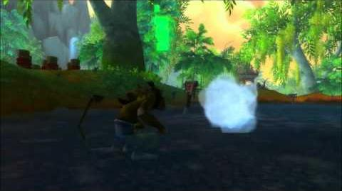 World of Warcraft - Pandaren Monk Fighting Animations - Blizzcon 2011
