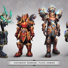 Латная броня ковенантов