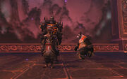 Gods and Monsters - Wrathion and Deathwing
