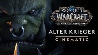 "World of Warcraft-Cinematic ""Alter Krieger"""