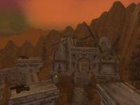 Крепость Каэр Дарроу - вход в Некроситет
