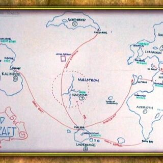 Представление местоположения Кезана до выхода его в свет