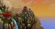 Ile vagabonde falaise