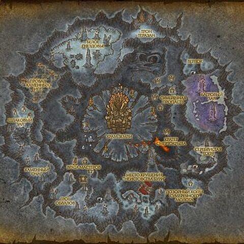 Карта Подземья