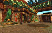 Temple du Serpent de jade entrée