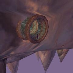 Выход из туннеля ведущего из клоаки Даларана.