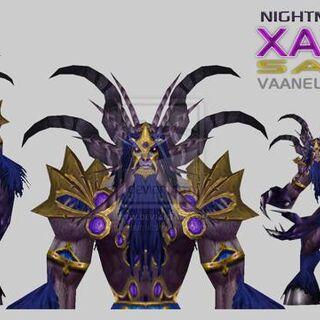 Xavius Satyr form. By Vaanel