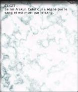Affiche (Sépulcre des Dahazi) 1