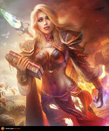Jaina the shattered soul by tamplierpainter-d96fhpa