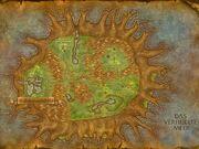 Teldrassil Karte