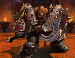 Garrosh Hellscream artwork