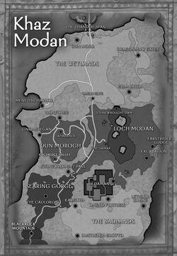 Khaz modan map