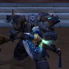 Мурадин защищает Стальгорн во время Вторжения Элементалей.