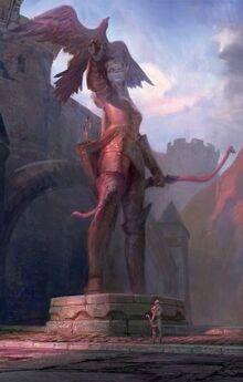 Statue de Alleria