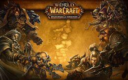 Warlords of Draenor Eastern Kingdoms loading screen