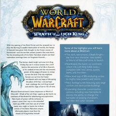 BlizzCon 2007 booklet.