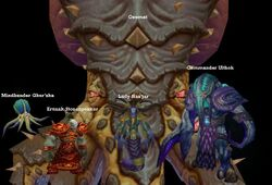 Throne of the Tides bosses