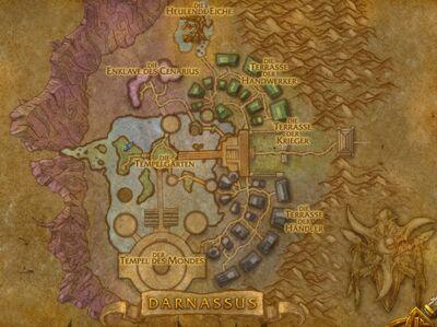 Karte Darnassus
