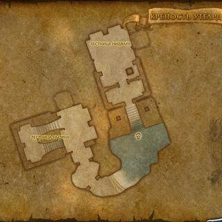 Карта, отображающая Лестницу Ньорна и Лестницу Нидвара.