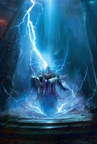 Gardien Thorim découvre le corps de Sif sa femme