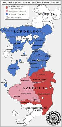 Mapa Segunda Guerra