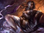 Queen azshara by mad jill