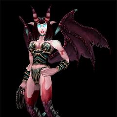 Суккуба в <i>World of Warcraft</i>.