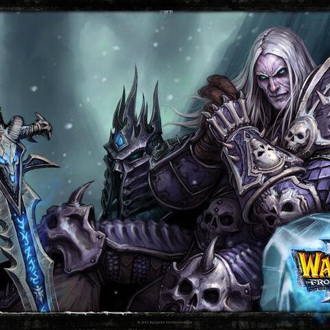Официальные обои <i>Warcraft III: TFT</i>.