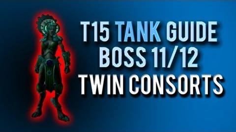 """Twin Consorts"" TANK Guide → Boss 11 12 in Throne of Thunder"