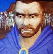 Khadgar dans une cinématique de Warcraft II