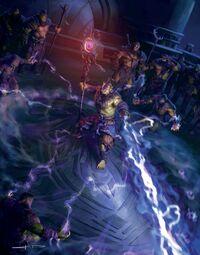 Ner'zhul ouvre une myriade de portails sur Draenor