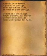 Page roussie - L'héritage du roi de la montagne