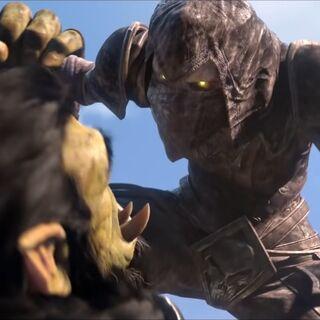Thrall zostaje zaatakowany przez jednego z zabójców.