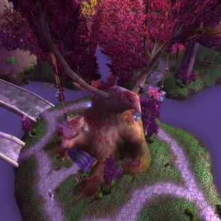 Darnassus bank from the air.