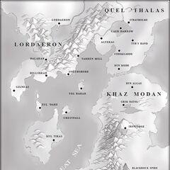 Местоположение Альтерака в Warcraft II.
