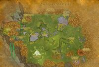 Burning Blade Digsite map