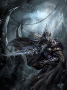 World of warcraft lich king desktop 800x1078 wallpaper-316084