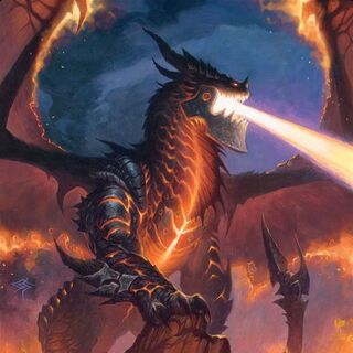 Deathwing w zestawie rajdowym TCG <i>Battle of the Aspects. </i>