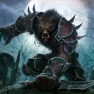 Worgen artwork
