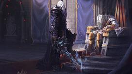 Arthas zabija ojca